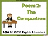 AQA GCSE English Literature Unseen Poetry Teaching Resources (slide 51/60)