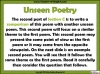 AQA GCSE English Literature Unseen Poetry Teaching Resources (slide 52/60)