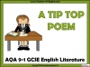 AQA GCSE English Literature Unseen Poetry Teaching Resources (slide 9/60)
