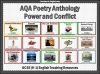 AQA GCSE Poetry Anthology Power and Conflict Pack Teaching Resources (slide 1/655)