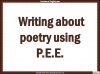 AQA GCSE Poetry Anthology Power and Conflict Pack Teaching Resources (slide 140/655)