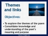 AQA GCSE Poetry Anthology Power and Conflict Pack Teaching Resources (slide 191/655)