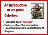 AQA GCSE Poetry Anthology Power and Conflict Pack Teaching Resources (slide 206/655)