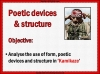 AQA GCSE Poetry Anthology Power and Conflict Pack Teaching Resources (slide 222/655)