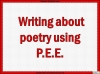AQA GCSE Poetry Anthology Power and Conflict Pack Teaching Resources (slide 229/655)