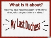 AQA GCSE Poetry Anthology Power and Conflict Pack Teaching Resources (slide 309/655)