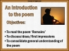 AQA GCSE Poetry Anthology Power and Conflict Pack Teaching Resources (slide 420/655)
