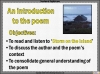 AQA GCSE Poetry Anthology Power and Conflict Pack Teaching Resources (slide 454/655)
