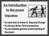 AQA GCSE Poetry Anthology Power and Conflict Pack Teaching Resources (slide 5/655)