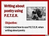 AQA GCSE Poetry Anthology Power and Conflict Pack Teaching Resources (slide 641/655)