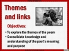 AQA GCSE Poetry Anthology Power and Conflict Pack Teaching Resources (slide 647/655)