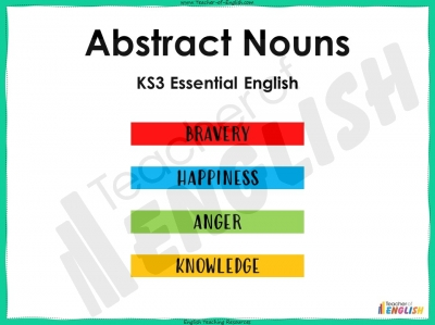 Abstract Nouns - KS3