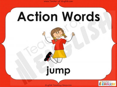 Action Words - Verbs