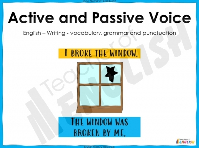 Active and Passive Voice - KS3