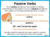 Active and Passive Voice - Year 5 and 6 Teaching Resources (slide 3/10)