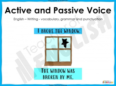 Active and Passive Voice - Year 5 and 6