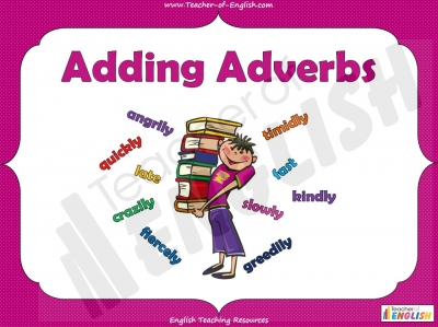 Adding Adverbs - KS2