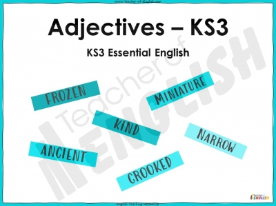 Adjectives - KS3