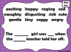 Adjectives are Awesome Teaching Resources (slide 25/27)
