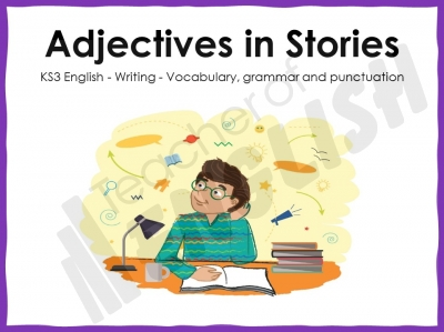 Adjectives in Stories