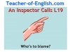 An Inspector Calls (sample) (slide 1/9)