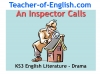 An Inspector Calls - KS3 Teaching Resources (slide 1/161)