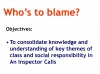 An Inspector Calls - KS3 Teaching Resources (slide 129/161)