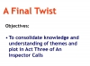 An Inspector Calls - KS3 Teaching Resources (slide 148/161)
