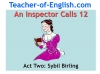 An Inspector Calls - KS3 Teaching Resources (slide 86/161)