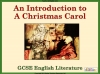 An Introduction to A Christmas Carol for GCSE