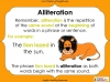 An Introduction to Alliteration - KS1 Teaching Resources (slide 12/13)
