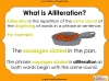 An Introduction to Alliteration - KS1 Teaching Resources (slide 3/13)
