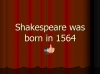 An Introduction to Shakespeare (slide 11/95)