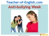 Anti-bullying Advice Leaflet Teaching Resources (slide 1/17)