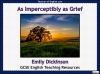 As Imperceptibly as Grief