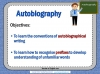 Autobiography - KS2 Teaching Resources (slide 2/93)