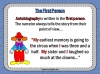 Autobiography - KS2 Teaching Resources (slide 29/93)