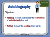 Autobiography - KS2 Teaching Resources (slide 38/93)