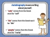 Autobiography - KS2 Teaching Resources (slide 6/93)