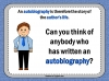 Autobiography - KS2 Teaching Resources (slide 7/93)