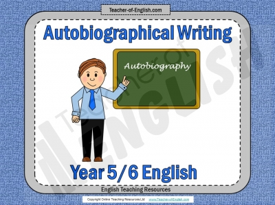 Autobiography - KS2 Teaching Resources