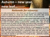 Autumn - New Year, New Leaf Teaching Resources (slide 2/10)