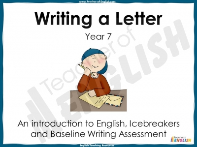 Back to School Letter - Year 7 Teaching Resources