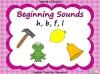 Beginning Sounds -  h, b, f, l Teaching Resources (slide 1/15)