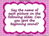 Beginning Sounds -  h, b, f, l Teaching Resources (slide 2/15)