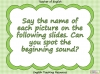 Beginning Sounds - i, n, m, d Teaching Resources (slide 2/15)