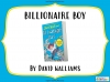 Billionaire Boy by David Walliams Teaching Resources (slide 1/106)