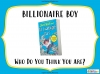 Billionaire Boy by David Walliams Teaching Resources (slide 83/106)