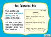 Billionaire Boy by David Walliams Teaching Resources (slide 97/106)