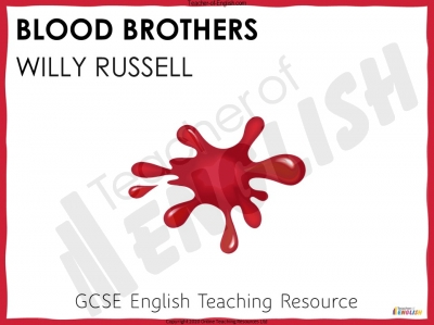Blood Brothers Teaching Resources